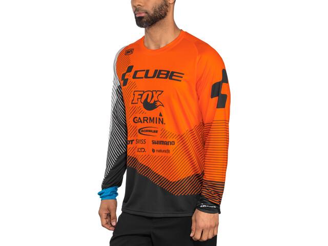 Cube Edge Langærmet cykeltrøje Herrer, action team